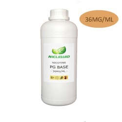 36mg/ml base de nicotine PG