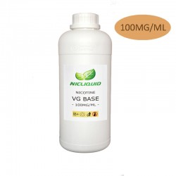 Base de nicotina VG 100mg / ml
