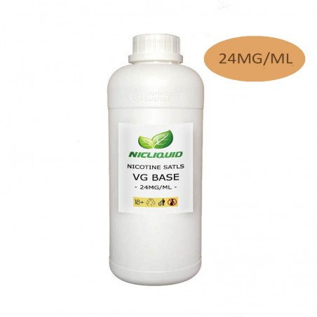 24 mg/ml VG nikotínové soli základne